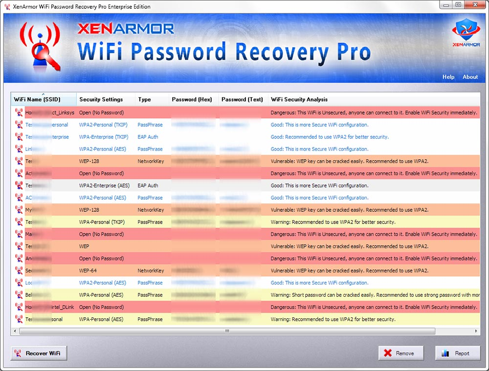 XenArmor WiFi Password Recovery Pro